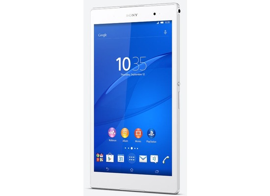 Sony Xperia Z3 Tablet Compact LTE, weiß