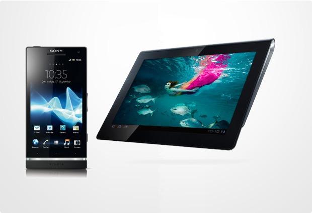 Sonys Elitebundle – Sony Xperia S + Sony Tablet S 16 GB (UMTS)