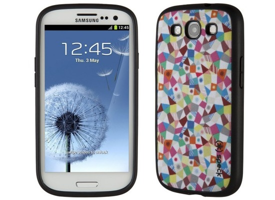 speck hardcase fabshell f r samsung galaxy s3 gemustert. Black Bedroom Furniture Sets. Home Design Ideas