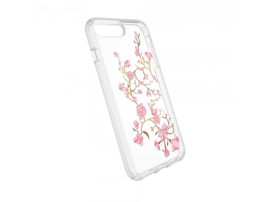 Speck HardCase Speck PRESIDIO iPhone (8) Plus Clear/Print - Goldenblossoms Pink/Clear