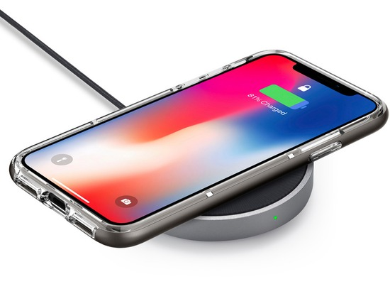 Spigen Essential F306W iPhone Wireless Charger (UK Plug) for
