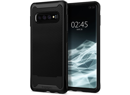 Spigen Hybrid NX for Galaxy S10+ matt black