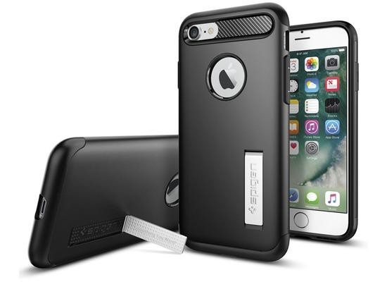Spigen Slim Armor for iPhone 7 / 8 schwarz
