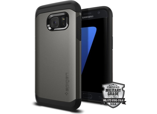 Spigen Tough Armor for Galaxy S7 gun metal