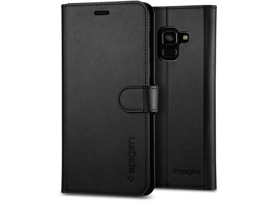 Spigen Wallet S for Galaxy A8 (2018) black