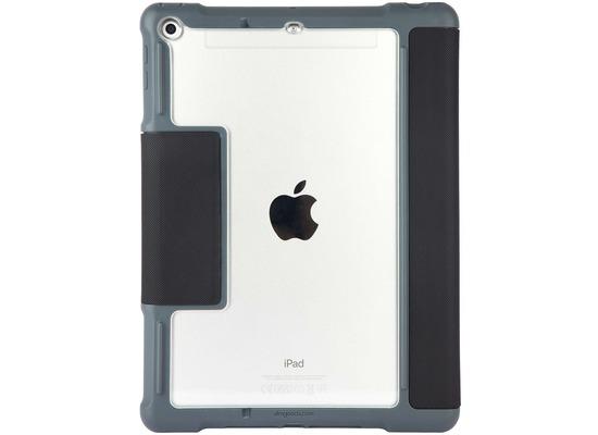 STM STM Dux Plus Case, Apple iPad 9,7 (2017 & 2018), schwarz/transparent, STM-222-165JW-01
