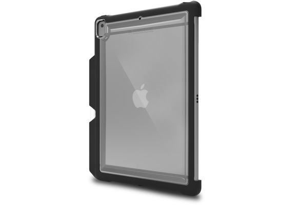 STM Dux Shell DUO Case, Apple iPad 10,2 (2019), schwarz/transparent, bulk, STM-222-243JU-01