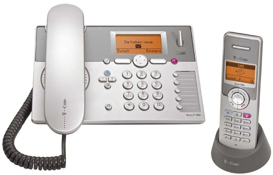 Telekom Sinus P300i collection silber/basaltgrau