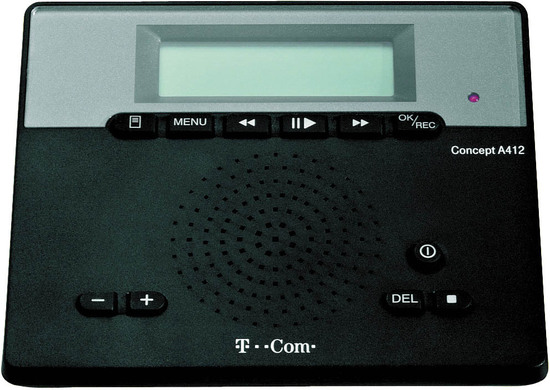 Handys & Kommunikation Anrufbeantworter Telekom Anrufbeantworter Concept A 412