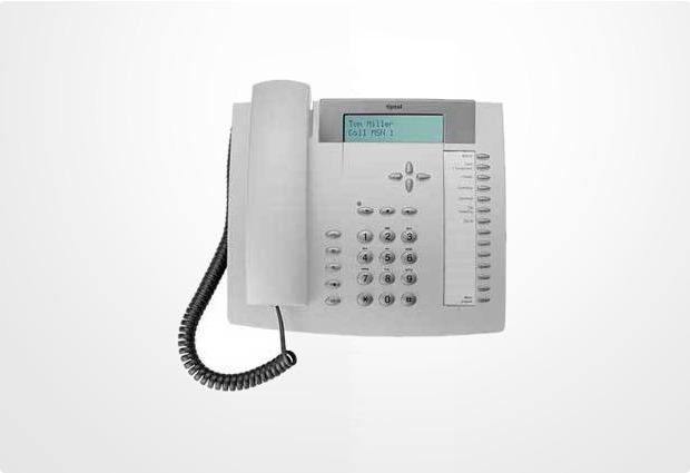 Tiptel 291 ISDN/Mailbox lichtgrau