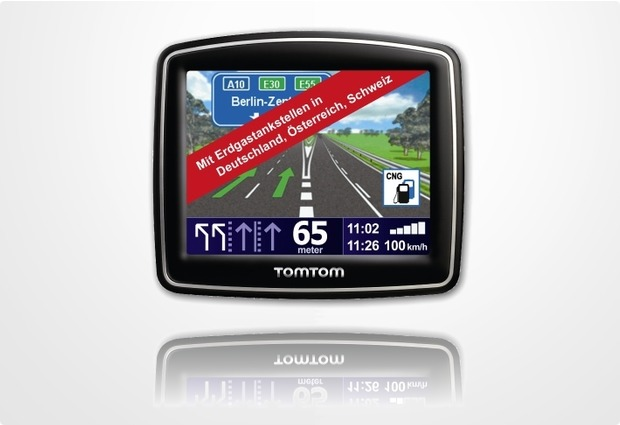 TomTom Erdgas.Navi One IQ Routes Traffic EU