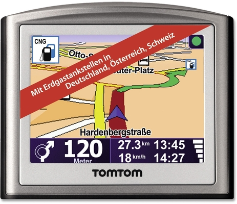 TomTom Erdgas.Navi One V3 D/A/CH T