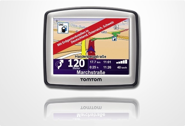 TomTom Erdgas.Navi One Traffic V4 D/A/CH