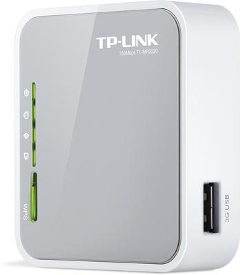 TP-LINK Portabler 3G Wireless N Router TL-MR3020