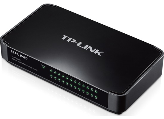 TP-LINK TL-SF1024M 24-Port 10/100 Desktop Switch