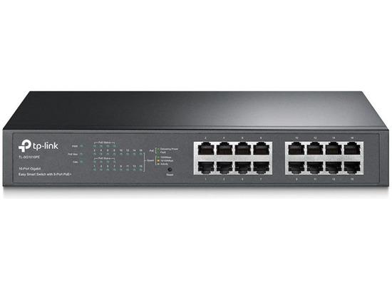 TP-LINK TL-SG1016PE 16-Port Gigabit Desktop POE Smart Switch
