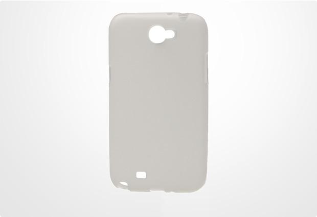 TPU-Schutzschale für Samsung Galaxy Note 2, transparent-trüb
