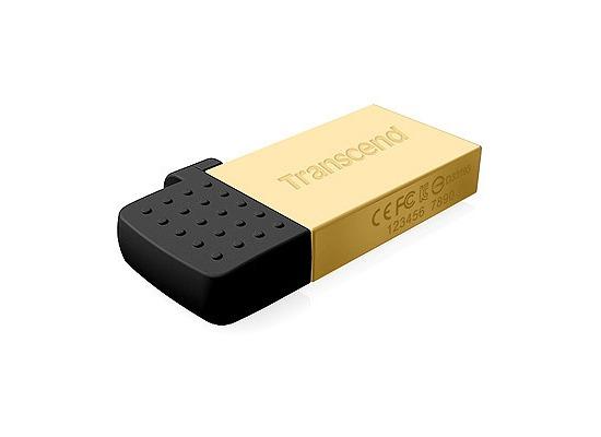 Transcend JetFlash 380 16GB, gold