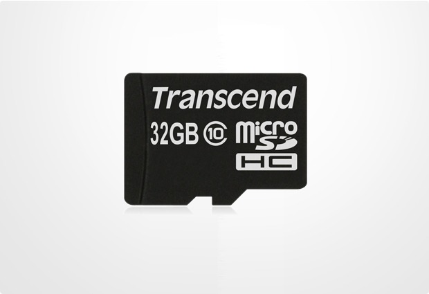 Transcend Ultimate Speed microSDHC 32GB Class 10