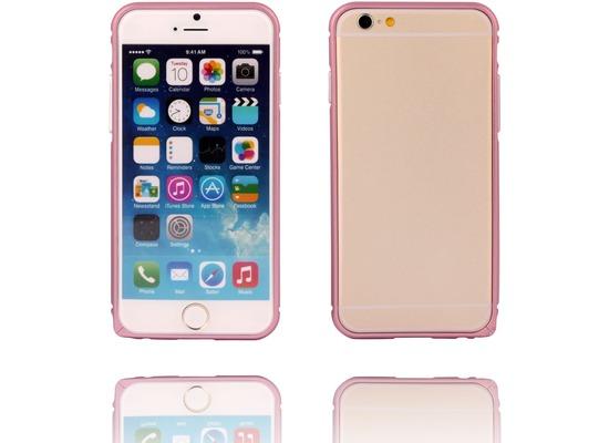 Twins Aluminium Bumper für iPhone 6, rose