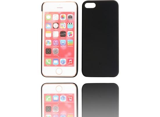 Twins Shield Matte für iPhone 5/5S/SE, schwarz