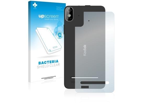 upscreen Bacteria Shield Clear Premium Displayschutzfolie für Kodak IM5 Rückseite