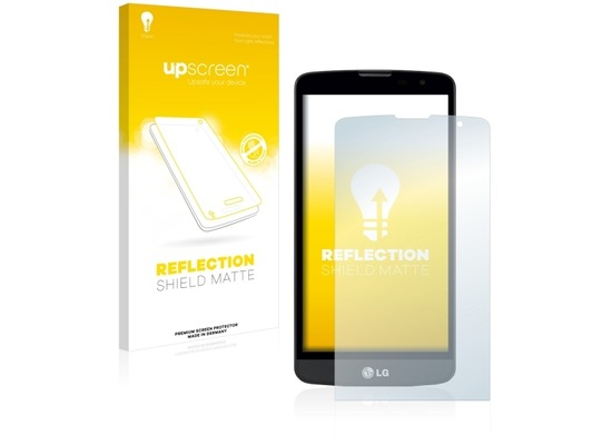 upscreen Reflection Shield Matte Premium Displayschutzfolie für LG L Bello