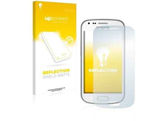 upscreen Reflection Shield Matte Premium Displayschutzfolie für Samsung Galaxy Trend Plus S7580