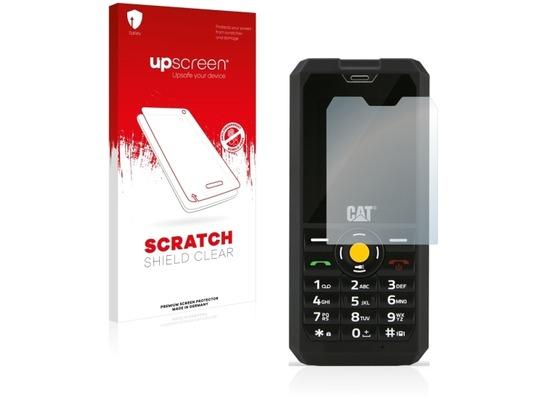 upscreen Scratch Shield Clear Premium Displayschutzfolie für Caterpillar Cat B30