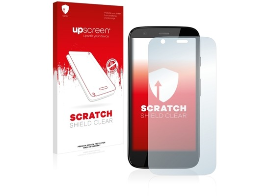 upscreen Scratch Shield Clear Premium Displayschutzfolie für Motorola Moto G 4G (2013)