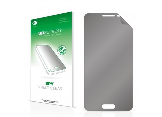 upscreen Spy Shield Clear Premium Blickschutzfolie für Samsung Galaxy Alpha SM-G850F