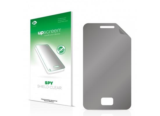 upscreen Spy Shield Clear Premium Blickschutzfolie für Samsung Star 3 S5220