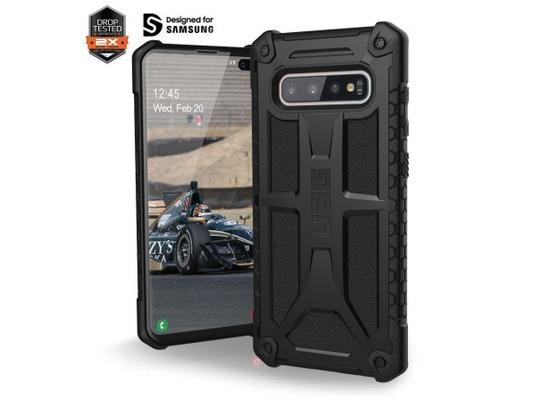 Urban Armor Gear Monarch Case, Samsung Galaxy S10+, schwarz matt