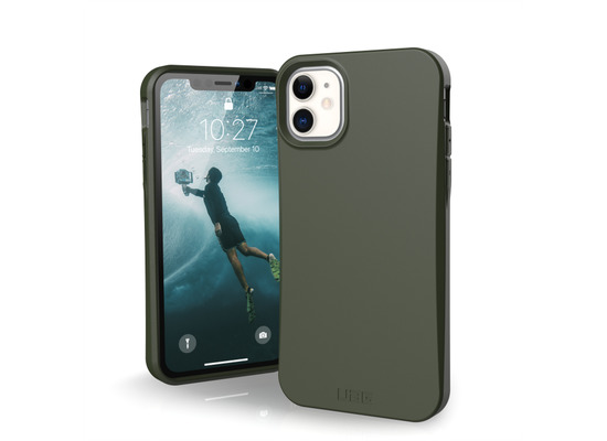 Urban Armor Gear Outback-BIO Case, Apple iPhone 11, olive drab, 111715117272