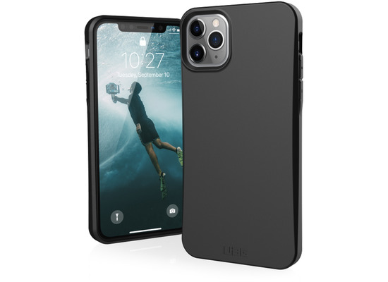 Urban Armor Gear Outback-BIO Case, Apple iPhone 11 Pro, schwarz, 111705114040