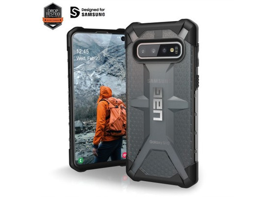 Urban Armor Gear Plasma Case, Samsung Galaxy S10, ash