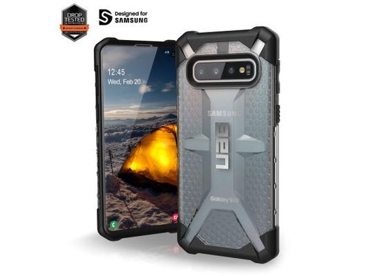 Urban Armor Gear Plasma Case, Samsung Galaxy S10, ice
