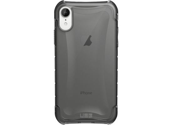 Urban Armor Gear Plyo Case, Apple iPhone XR, ash (grau transparent)