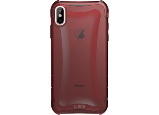 Urban Armor Gear Plyo Case, Apple iPhone XS Max, crimson (rot transparent)
