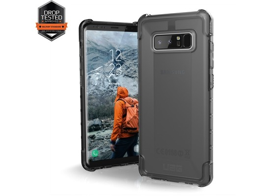Urban Armor Gear Plyo Case - Samsung Galaxy Note8 - ash (transparent)