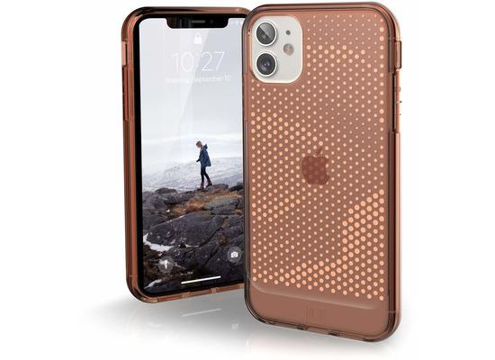 Urban Armor Gear U by UAG [U] Lucent Case, Apple iPhone 11/XR, orange (transparent), 11171N319797