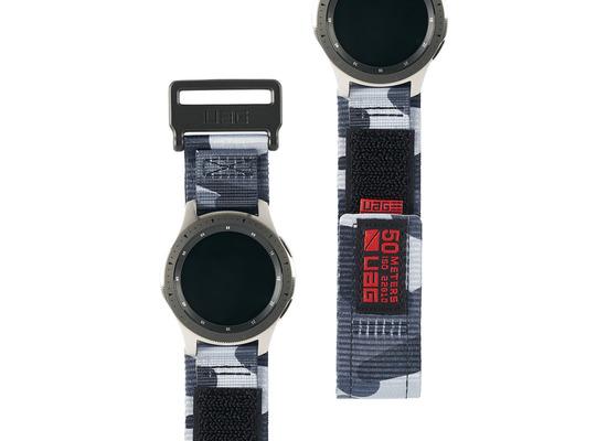 Urban Armor Gear UAG Urban Armor Gear Active Strap, Samsung Galaxy Watch 46mm, midnight camo, 29180A114061