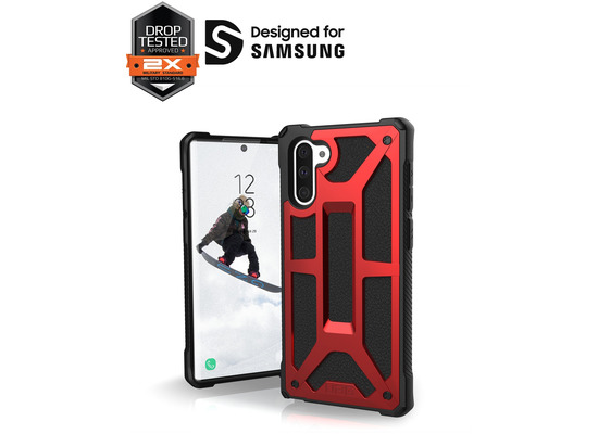 Urban Armor Gear UAG Urban Armor Gear Monarch Case, Samsung Galaxy Note 10, crimson (rot), 211741119494