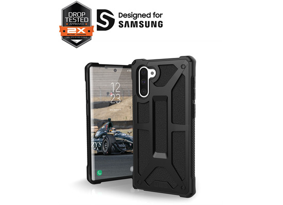 Urban Armor Gear UAG Urban Armor Gear Monarch Case, Samsung Galaxy Note 10, schwarz, 211741114040