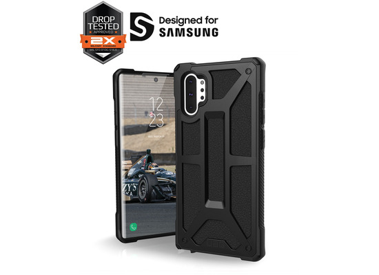 Urban Armor Gear UAG Urban Armor Gear Monarch Case, Samsung Galaxy Note 10+,  schwarz