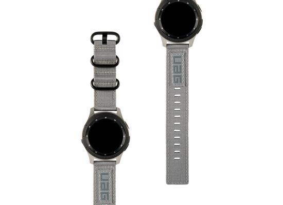 Urban Armor Gear UAG Urban Armor Gear Nato Strap, Samsung Galaxy Watch 42mm, grau, 29181C114030