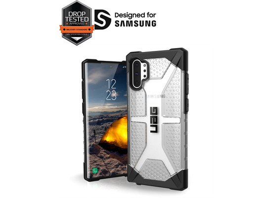 Urban Armor Gear UAG Urban Armor Gear Plasma Case, Samsung Galaxy Note 10+, ice (transparent), 211753114343