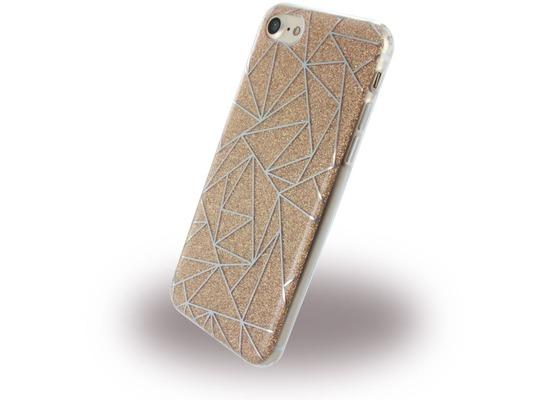 UreParts Tribal Case - Silikon Cover / Schutzhülle - Apple iPhone 7 / 8 - Gold