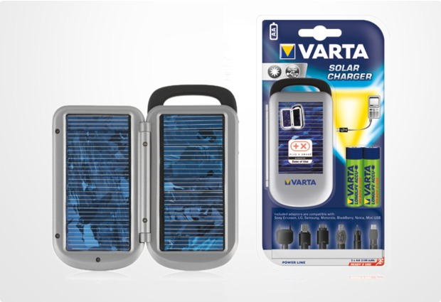 varta power line solar charger usb ladeger t inkl 2x. Black Bedroom Furniture Sets. Home Design Ideas