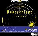 VDO Dayton NavTech TravelGuide Varta Deutschland 2004/2005